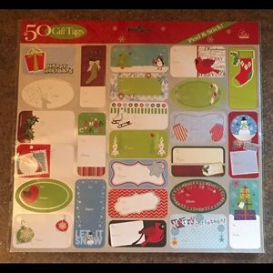 Peel & Stick Christmas Gift Tags - New (10 Packs)